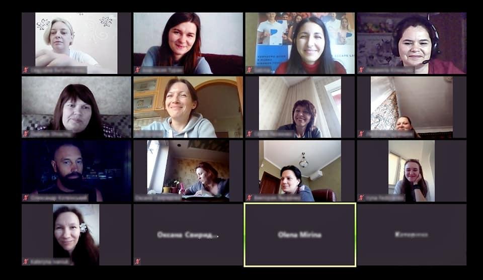 AVP Ukraine online meeting